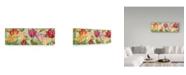 "Trademark Global Jean Plout 'Tulip Garden' Canvas Art - 19"" x 6"""