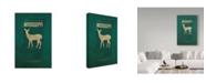 "Trademark Global Red Atlas Designs 'State Animal Mississippi' Canvas Art - 12"" x 19"""
