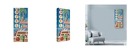 "Trademark Global Larry Hunter 'Woody' Canvas Art - 20"" x 47"""