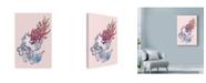 """Trademark Global Mat Miller 'Spirit Wolf' Canvas Art - 22"""" x 32"""""""