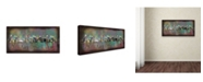 "Trademark Global Ellicia Amando 'Toronto' Canvas Art - 24"" x 47"""