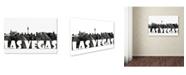 "Trademark Global Marlene Watson 'Las Vegas BG-2' Canvas Art - 22"" x 32"""