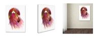 "Trademark Global Mark Ashkenazi 'Flamingo Colors 2' Canvas Art - 35"" x 47"""