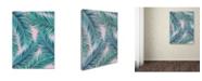 "Trademark Global Mark Ashkenazi 'Palm-Tree' Canvas Art - 35"" x 47"""