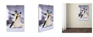 "Trademark Global The Macneil Studio 'Ballroom Dancing' Canvas Art - 22"" x 32"""