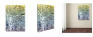 "Trademark Global Michael Tompsett 'Portland Oregon Street Map V' Canvas Art - 24"" x 32"""