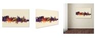 "Trademark Global Michael Tompsett 'Salzburg Austria Skyline IV' Canvas Art - 22"" x 32"""