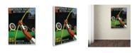 "Trademark Global Lantern Press 'Sports 19' Canvas Art - 24"" x 32"""