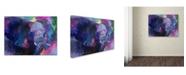 "Trademark Global Richard Wallich 'Art Elephoto 4' Canvas Art - 24"" x 32"""