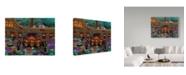 "Trademark Global Jake Hose 'Hard Luck Tavern' Canvas Art - 24"" x 32"""
