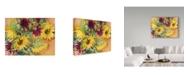 "Trademark Global Joanne Porter 'Nodding Heads Sunflowers' Canvas Art - 24"" x 32"""