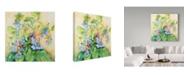 "Trademark Global Joanne Porter 'Blue Bell Cluster' Canvas Art - 24"" x 24"""