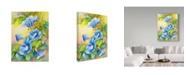 "Trademark Global Joanne Porter 'A Morning Glory Vine' Canvas Art - 35"" x 47"""