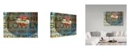 "Trademark Global John W. Golden 'Lead Foot' Canvas Art - 35"" x 47"""