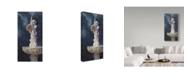 "Trademark Global Rusty Frentner 'Alone In The Garden' Canvas Art - 24"" x 47"""