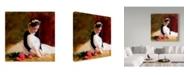 "Trademark Global Sharon Forbes 'Kris' Canvas Art - 24"" x 24"""