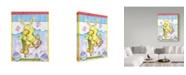 "Trademark Global Valarie Wade 'Bunny Hop' Canvas Art - 35"" x 47"""