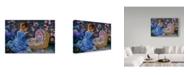 "Trademark Global Tricia Reilly-Matthews 'Tender Moments' Canvas Art - 30"" x 47"""