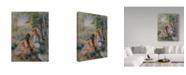 "Trademark Global Pierre Auguste Renoir 'In The Meadow' Canvas Art - 24"" x 18"""