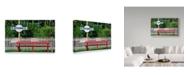 "Trademark Global Incredi 'Platform Nine And Three Quarters' Canvas Art - 47"" x 30"""
