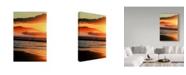 "Trademark Global Incredi 'Promised Light' Canvas Art - 30"" x 47"""
