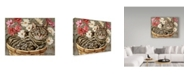 "Trademark Global Jan Benz 'Norton's Basket' Canvas Art - 32"" x 24"""