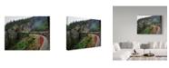 """Trademark Global J.D. Mcfarlan 'White Pass' Canvas Art - 32"""" x 24"""""""