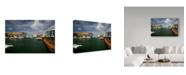 "Trademark Global J.D. Mcfarlan 'Barbados 2' Canvas Art - 32"" x 22"""