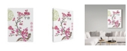 """Trademark Global Jean Plout 'Cherry Blossom Serenity' Canvas Art - 35"""" x 47"""""""