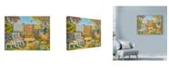 "Trademark Global Vessela G. 'Harvest Time Quilts' Canvas Art - 47"" x 35"""