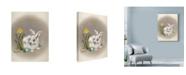 "Trademark Global Peggy Harris 'Spring Is Ear' Canvas Art - 35"" x 47"""