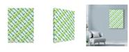 "Trademark Global Rachel Gresham 'Green Arrows' Canvas Art - 24"" x 32"""