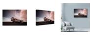 "Trademark Global Nina Papiorek 'Iceland Plane Wreck' Canvas Art - 32"" x 22"""