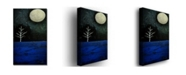"Trademark Global Nicole Dietz 'Moonbeams' Canvas Art - 32"" x 19"""