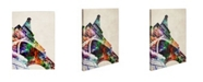 """Trademark Global Michael Tompsett 'Eiffel Tower' Canvas Art - 47"""" x 35"""""""