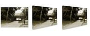 "Trademark Global Miguel Paredes 'Passage I' Canvas Art - 47"" x 35"""