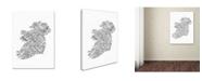 "Trademark Global Michael Tompsett 'Ireland VII' Canvas Art - 30"" x 47"""