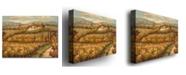 "Trademark Global Rio 'Hillside Cottage' Canvas Art - 47"" x 35"""
