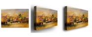 "Trademark Global Rio 'City Reflections V' Canvas Art - 32"" x 22"""