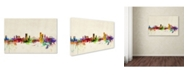 """Trademark Global Michael Tompsett 'Liege, Belgium' Canvas Art - 32"""" x 22"""""""