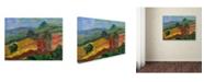 """Trademark Global Manor Shadian 'Napa 2' Canvas Art - 32"""" x 24"""""""