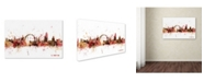 "Trademark Global Michael Tompsett 'London England Skyline' Canvas Art - 47"" x 30"""
