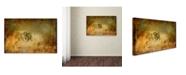 "Trademark Global Lois Bryan 'Send the Bees Love' Canvas Art - 22"" x 32"""