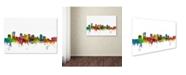 "Trademark Global Michael Tompsett 'Phoenix Arizona Skyline' Canvas Art - 30"" x 47"""