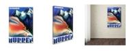 "Trademark Global Vintage Apple Collection 'Murren' Canvas Art - 12"" x 19"""