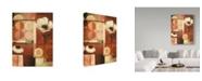 "Trademark Global Lisa Audit '60's Bloom 3' Canvas Art - 14"" x 19"""