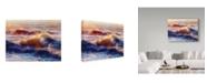 "Trademark Global Steve Henderson 'Opalescent Sea' Canvas Art - 14"" x 19"""