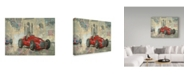 "Trademark Global Peter Miller 'Whitehead's Ferrari' Canvas Art - 12"" x 19"""