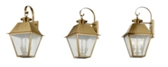 Livex Mansfield 3-Light Outdoor Wall Lantern