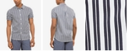 Kenneth Cole Men's Vertical Striped Shirt, Created for Macy's